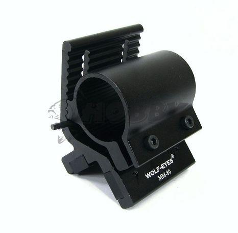 Mazi Magnetická Montáž Svietidla Na Zbraň s Nástavcom
