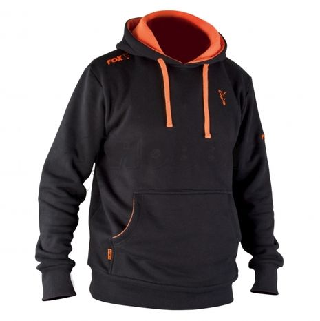 Mikina Fox Black&Orange Hoody New 2014