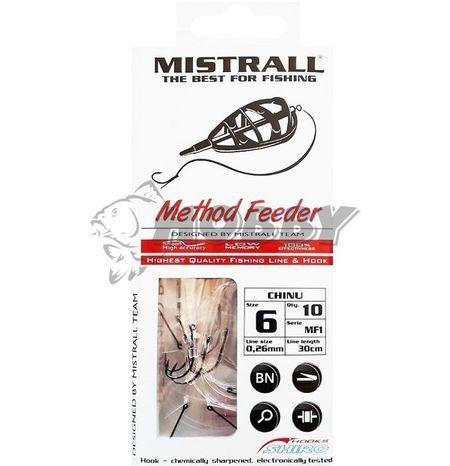 Mistrall MF1 nadväzce s tŕňom d.30cm 0,24mm v.8