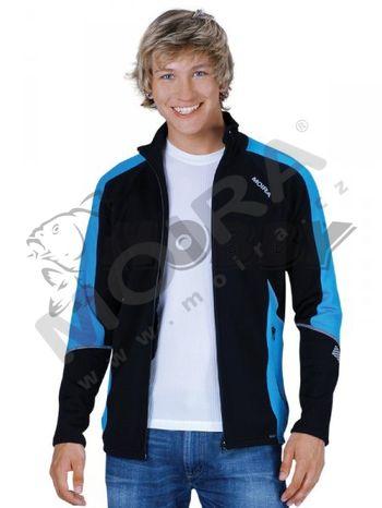 Moira Fleece Mikina čierno modrá