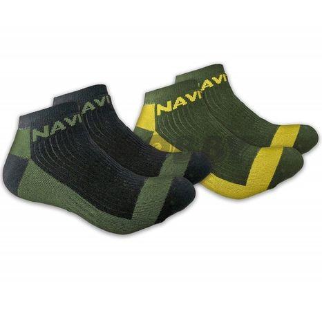 Navitas Coolmax Ankle Sock Twin Pack 41-45