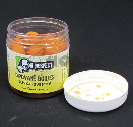 No Respect Dipované Boilies Sweet Gold Slivka 20mm/150g
