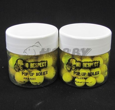 No Respect Pop-Up Boilies Ananás 12mm/45g