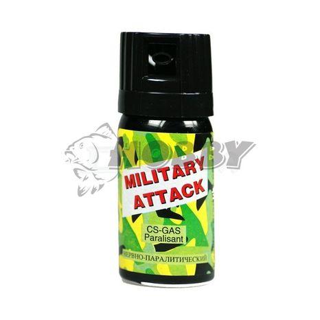 Obranný Sprej CS Military Attack 40ml