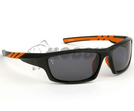 Polarizačné okuliare FOX Sunglasses Black/Orange wraps/grey lense