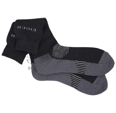 Ponožky Eiger Alpina Sock 40/43 - 6/8 Black/Grey