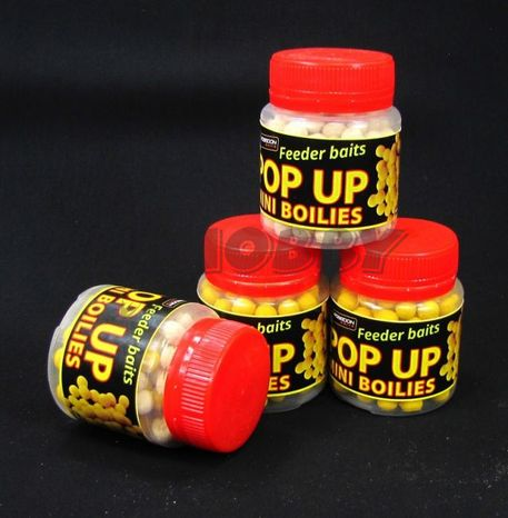 POSEIDON Method Mini Pop Up Boilies Med 7mm/30g