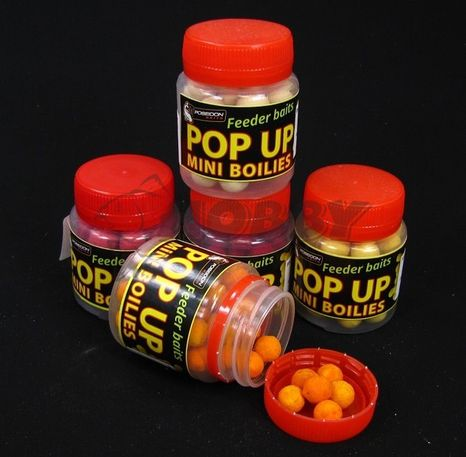 POSEIDON Pop Up Boilies Wrapped 12mm/30g Krill