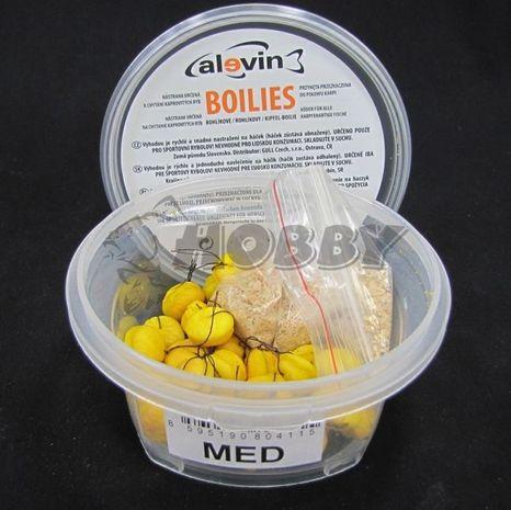 Rohlíkové Boilies Alevin - Med 30g