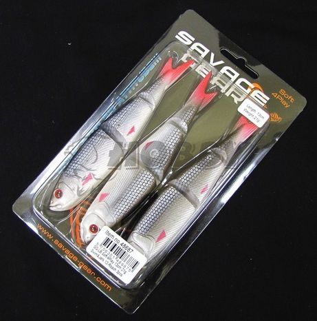 Savage Gear Nástraha Soft 4play Swim&Jerk 13cm/21g/3ks Roach