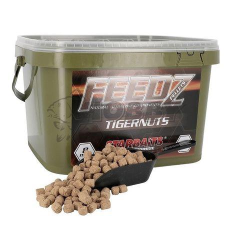 StarBaits Feedz Tigernut Pellets 8mm 4kg