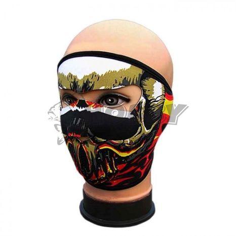 TIF Neoprénová maska Lebka color
