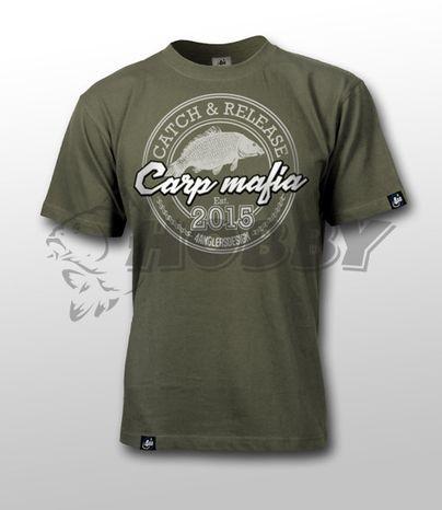 Tričko CARP MAFIA S Olive