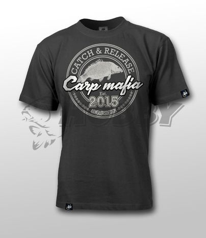 Tričko CARP MAFIA XL Graphite