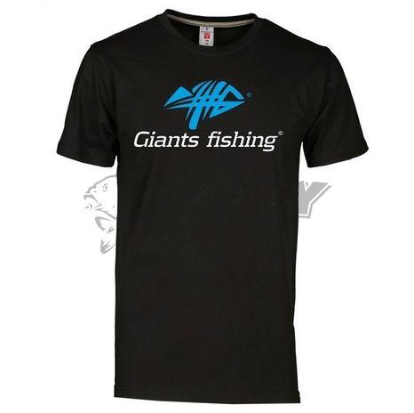Tričko pánske čierne Giants Fishing L