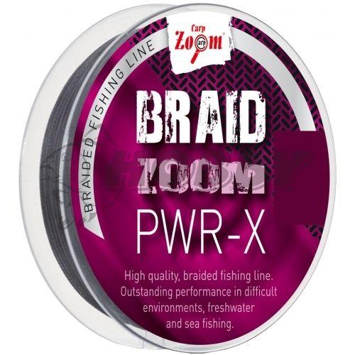 Šnúra Carp Zoom BRAID ZOOM PWR-X 0,10mm/120m